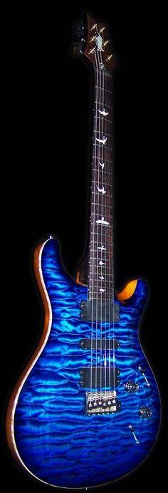 blue giutar