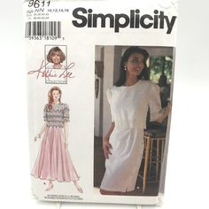 Simplicity 8465 Crafts Misses COLLARS Dickie Lace Cottagecore pattern UNCUT FF