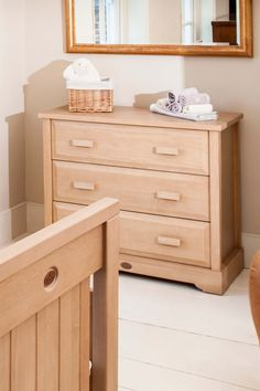 Designed to complement the entire Boori range, our 3 Drawer Dresser offers a practical yet stylish storage solution for any nursery or bedroom.   With three deep and fully-extendable drawers, this beautifully crafted chest of drawers features plenty of space to store all baby's essentials. Our Cloud Easyclean Change Pad is designed to fit perfectly on top of our dressers and chests without the need for an additional changing station. 3 Drawer Dresser, Dressers, Chest Of Drawers, Changing Station, Storage Drawers, Bedroom Ideas, Cloud, Essentials, Farmhouse