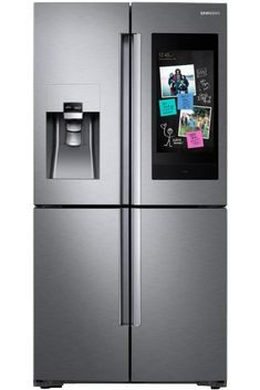 Wi-Fi Enabled 27.9-cu ft 4-Door French Door Refrigerator with Ice Maker (Fingerprint-Resistant Stainless Steel) #lowes #cybermonday