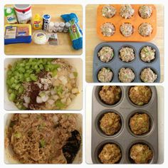 Jamie Eason's Turkey Muffins Besttttt mini meal for before or after lunch. Delicious me and my hubby love them :)