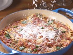 Get Chicken Sausage and Artichoke Skillet Lasagna Recipe from Cooking Channel