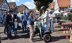 SPRINGE. Radeln statt Autofahren und Photovoltaik für die Stromversorgung: Die Themen Mobilität und energetische Sanierung hat der 9. Klimaschutztag ... Autos