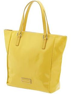 Marc Jacobs bag...love the sunny yellow color.