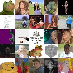 Daily Dot | Acclaimed artists commemorate the 25-year anniversary of the GIF