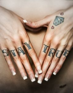"""Stay true"" Photography by Dale May #tattoo #inked #tatts #ink"