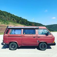 It'd be nice if this was electric. But oy that's a project. #vanagon #vanagon #awesomelyweird #dadventure #momandadventure