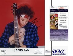 JANIS IAN Hand Signed 8x10 - JSA COA - UACC RD #289 in Collectibles, Autographs, Music | eBay
