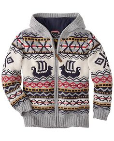 totally want this boy's sweater! --> Viking Sweater Hoodie from… Source by hoodies Vikings, Sweater Hoodie, Men Sweater, Viking Baby, Baby Kids, Baby Boy, Viking Dress, Little Boy Fashion, Kids Fashion