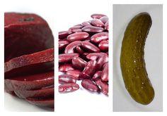 Salát z červené řepy s fazolemi