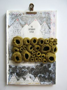 Altered Book Art Mixed Media with Free Form by FullFlowerMoon