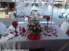 How about  some Romance on the #Yacht ? #Antalya #Turkey