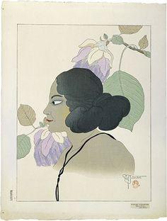 Japanese Art   Japanese Woodblock Prints   Paul Jacoulet
