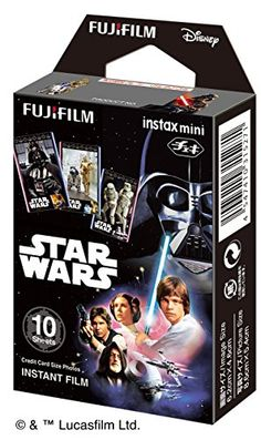 Fujifilm Instax Mini Instant Film 10 Sheets, STAR WARS Limited ver