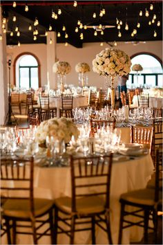classic gold and rose reception | NYC wedding ideas | elegant wedding reception | #weddingchicks