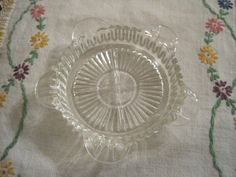 Vintage Glass Ashtray by pamsantiques on Etsy, $4.00