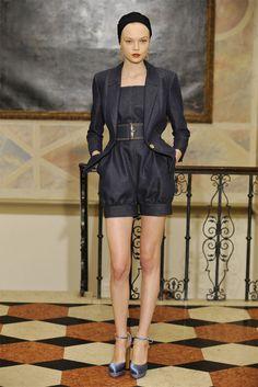 Saint Laurent Resort 2011 Fashion Show - Siri Tollerød