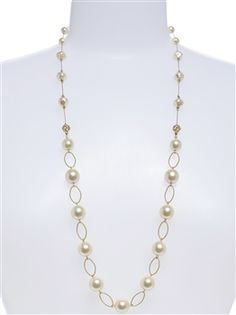 I love this beautiful Lauren Pearl Necklace! Very unique!