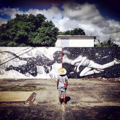 Seth x Kid x Boogie New Mural In Saint-Denis, Reunion
