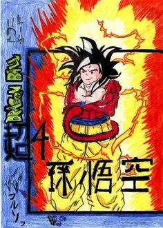 (DBZ) Son Goku Super Sayajin 4 2007