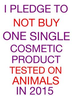 I don't believe any of the cosmetics companies after Avon tested on animals years ago and don't wear any cosmetics-I pledge not to buy any EVER :P
