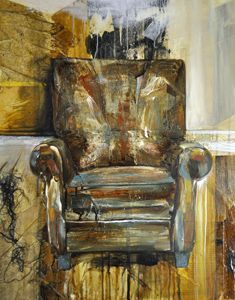 h for home graffiti antique chair recliner leather H art