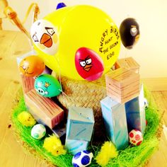 Too funny - Angry Birds Easter Bonnet!