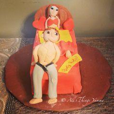Birthday Cakes for Boys - Flirty Thirty Birthday Cake | All Things Yummy #Flirty #thirty #birthdaycake #boy #girl #bed #naughtycake #cake #chocolatetruffle #pillows #bedsheet #jeans #atyummy #bachelorette