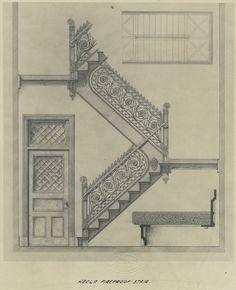 Hecla fireproof stair. - 1908