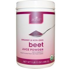 We are obsessed with this new Beet Juice Powder! Organic Beet Juice Powder is made from select organic beets grown in nutrient-rich soil under rigorous organic growing standards. This superior growing