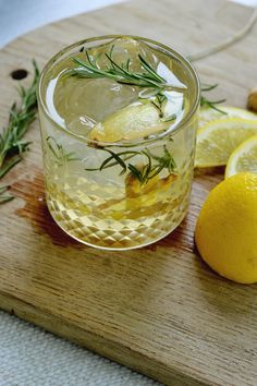 Rosemary Lemon Ginge