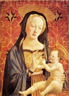 Domenico Veneziano (c. 1405-1461). Madonna and Child