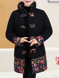 Women's Clothing Active Women Jacket Brand Tops Flower Print Girl Plus Size Casual Baseball Sweatshirt Button Thin Long Sleeves Coat Jackets 2017 Relieving Rheumatism And Cold