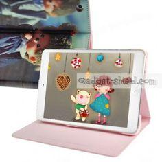 cute ipad cases bags | ... Pattern Folio Leather Case For iPad Mini - Cute Doll - Gadget-Shield