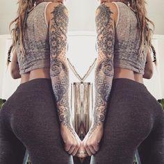 Pin by radney beauchamp on tattoos тату Arm Tattoos Forearm, Arm Sleeve Tattoos, Sleeve Tattoos For Women, Tattoo Sleeve Designs, Sexy Tattoos, Cute Tattoos, Tatoos, Maori Tattoos, Flower Tattoos