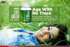 #MWH Live Green Real Grass' reduces #ageing signs from #skin  #YoungForever  http://mywishhub.com/dietary-supplements/live-green/real-grass.html #MWH