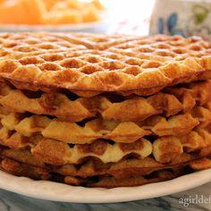 Best Buttermilk Waffles #breakfast #brunch #best