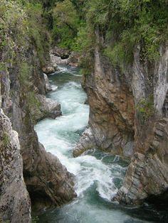 Río Caunahue, región de Los Ríos