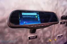 Android users, there is a new product that will be hitting the market next year, that works in your rear view mirror.