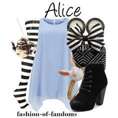 """Alice"" by fofandoms on Polyvore"