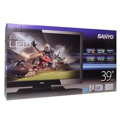 "39"" Sanyo DP39842 1080p 60Hz Widescreen LED LCD HDTV  The Sanyo 39"" LCD HDTV, DP39842 with integrated ATSC Digital and NTSC Analog Tuner is the latest technology for the digital age. In a glossy black finish, it blends into the background when the lights are dimmed for your movies, sports and favorite programs in any room of your home.   5%-10% Loyalty Customer Discounts available for long time shoppers."