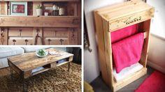 Bien optimisée, la palette permet la fabrication d'une infinité de meubles. Voici 22 exemples faciles à reproduire chez soi. Il suffit de bien observer !