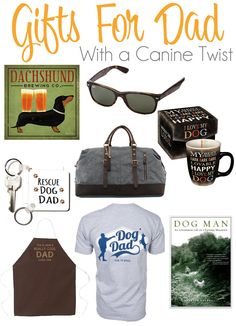 Father's Day Gift Ideas for Dog Dads Dog Dad Gifts, Gifts For Dog Owners, Pet Gifts, Dog Lover Gifts, Dog Lovers, Daddy Gifts, Cute Dog Collars, Diy Dog Collar, Gifts For New Parents