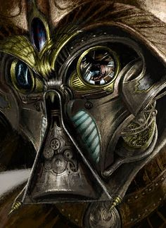 Steampunk Darth Vader - by Kevin Mowrer