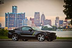 I don't usually like mustangs but. this Stage 3 Hyper-Series 2012 Ford Mustang Roush is pretty sick Ford Mustang Roush, Mustang Old, 2012 Ford Mustang, Ford Mustangs, Mustang Cars, Modern Muscle Cars, American Muscle Cars, Roush Stage 3, Lexington Park
