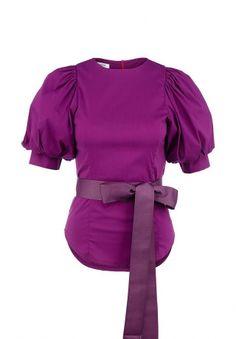 Блуза Tutto Bene, цвет: фиолетовый. Артикул: TU009EWFKX72
