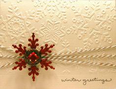 Winter Greetings by Darsie1 - Cards and Paper Crafts at Splitcoaststampers