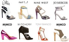 I wanted to share with you some shoe inspiration to come down the LFW runway. I always appreciate not only the creative designs of footwear today but the craftsmanship that goes . Nine West, Spring Summer, Footwear, London Fashion, Heels, Centre, Live, Blog, Shopping