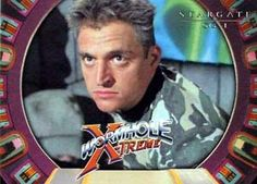 """Wormhole Extreme's Colonel Danning / Nick Marlow (Michael DeLuise) - Stargate: SG-1 """"200"""""""