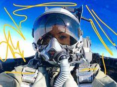 Imgur Post - Imgur Jet Fighter Pilot, Air Fighter, Fighter Jets, Oxygen Mask, Female Pilot, Half Mask, Cyberpunk Fashion, Lady Biker, Self Defense